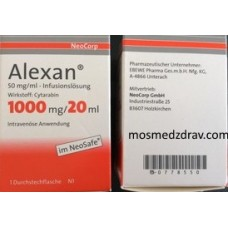 ALEXAN 1000 mg Infusionslösung 20 ml