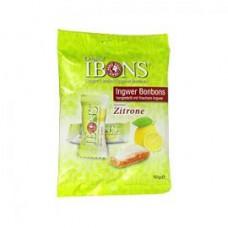 IBONS Zitrone Ingwerkaubonbons Orig.Btl.m.Euroloch 92 g