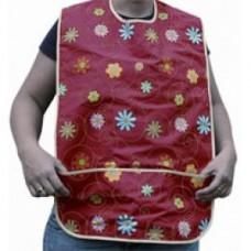 LÄTZCHEN Erw.Textil mit Tasche Druckknöpfe 1 St