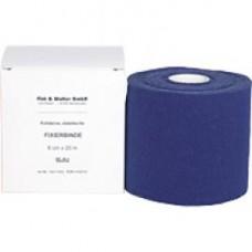 FIXIERBINDE kohäsiv elastisch 8 cm blau 1 St