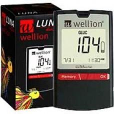 WELLION LUNAduo Style Blutzuckermessg.Set mg/ml 1 St