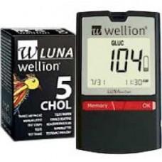 WELLION LUNAduo Style Blutzuckerm.+5 CholTS mg/dl 1 St