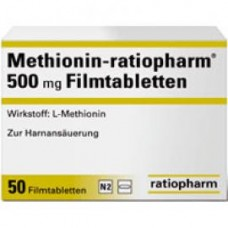 METHIONIN RATIO 500MG**
