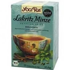YOGI TEA Lakritz Minze Bio Filterbeutel 17X1.8 g
