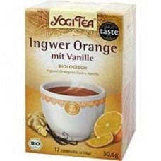YOGI TEA Ingwer Orange+Vanille Bio Filterbeutel 17X1.8 g