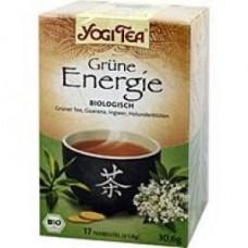 YOGI TEA grüne Energie Bio Filterbeutel 17X1.8 g