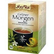 YOGI TEA grüner Morgen Bio Filterbeutel 17X1.8 g