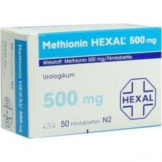 METHIONIN HEXAL 500 mg Filmtabletten 50 St