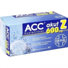 ACC akut 600 Z Hustenlöser Brausetabletten 20 St
