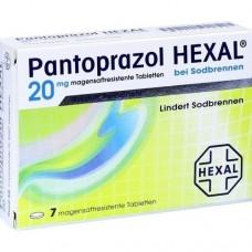 PANTOPRAZOL HEXAL b.Sodbrennen magensaftres.Tabl. 7 St
