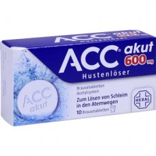 ACC akut 600 Brausetabletten 10 St