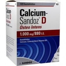 CALCIUM SANDOZ D Osteo intens Kautabletten 120 St