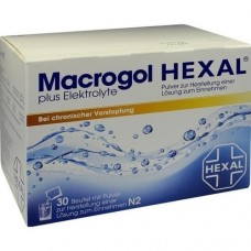 MACROGOL HEXAL plus Elektrolyte Plv.z.H.e.L.z.E. 30 St