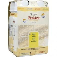FREBINI Energy Drink Banane Trinkflasche 4X200 ml