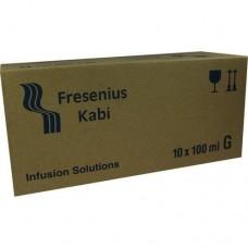 NATRIUM HYDROGENCARBONAT 8,4% Glas Infusionslsg. 10X100 ml