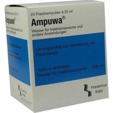 AMPUWA Plastikampullen Injektions-/Infusionslsg. 20X20 ml