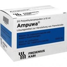 AMPUWA Plastikampullen Injektions-/Infusionslsg. 20X10 ml
