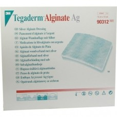 TEGADERM Alginate Ag FK Wundaufl.10x10 cm 90312 10 St
