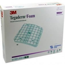 TEGADERM Foam Verband FK 8,8x8,8 cm 90604 10 St