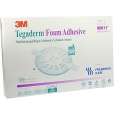 TEGADERM Foam Adhesive FK 10x11 cm oval 90611 10 St
