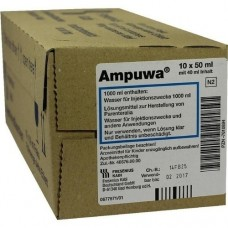 AMPUWA 50 ml Frekaflasche Injekt.-/Infus.-Lsg. 10X40 ml