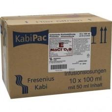 ISOTONISCHE Kochsalzlösung 100ml halbgefüllt 10X50 ml
