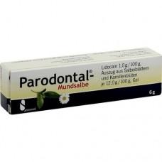PARODONTAL Mundsalbe 6 g