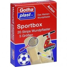 GOTHAPLAST Sportbox Strips in 5 Größen 20 St