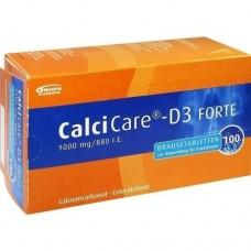 CALCICARE D3 forte Brausetabletten 100 St
