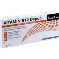 VITAMIN B12 Depot Rotexmedica Injektionslösung 10X1 ml