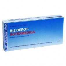 VITAMIN B12 Depot Rotexmedica Injektionslösung 100X1 ml
