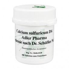 BIOCHEMIE Adler 12 Calcium sulfuricum D 6 Tabl. 400 St