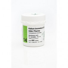 BIOCHEMIE Adler 14 Kalium bromatum D 12 Tabletten 400 St