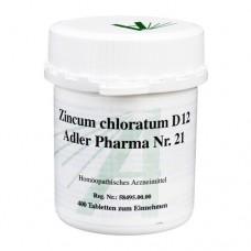 BIOCHEMIE Adler 21 Zincum chloratum D 12 Tabletten 400 St
