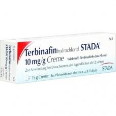 TERBINAFIN HYDROCHLOR.STADA 10mg/g Creme 15 g