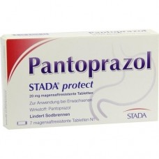 PANTOPRAZOL STADA protect 20 mg magensaftres.Tabl. 7 St