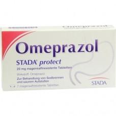 OMEPRAZOL STADA protect 20 mg magensaftr.Tabletten 7 St