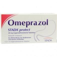 OMEPRAZOL STADA protect 20 mg magensaftr.Tabletten 14 St
