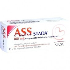 ASS STADA 100 mg magensaftresistente Tabletten 50 St