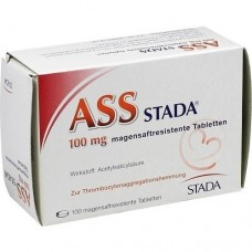 ASS STADA 100 mg magensaftresistente Tabletten 100 St