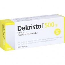 DEKRISTOL 500 I.E. Tabletten 100 St