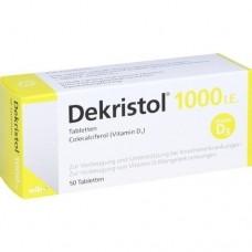 DEKRISTOL 1.000 I.E. Tabletten 50 St
