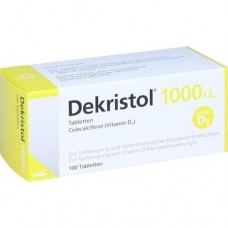DEKRISTOL 1.000 I.E. Tabletten 100 St