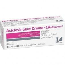 ACICLOVIR akut Creme 1A Pharma 2 g