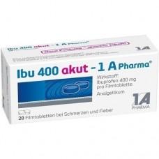 IBU 400 akut 1A Pharma Filmtabletten 20 St