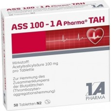 ASS 100 1A Pharma TAH Tabletten 50 St