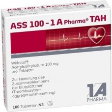 ASS 100 1A Pharma TAH Tabletten 100 St