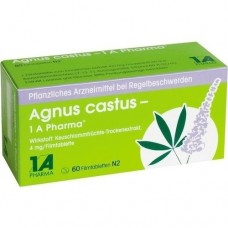 AGNUS CASTUS 1A Pharma Filmtabletten 60 St