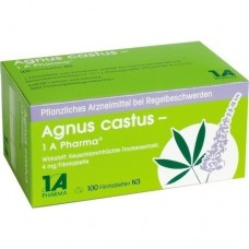 AGNUS CASTUS 1A Pharma Filmtabletten 100 St