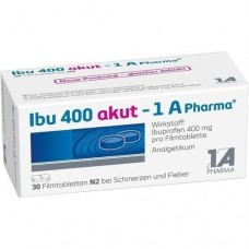 IBU 400 akut 1A Pharma Filmtabletten 30 St